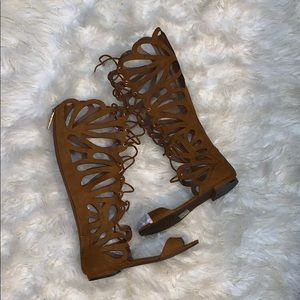New Butterfly Gladiator Sandals